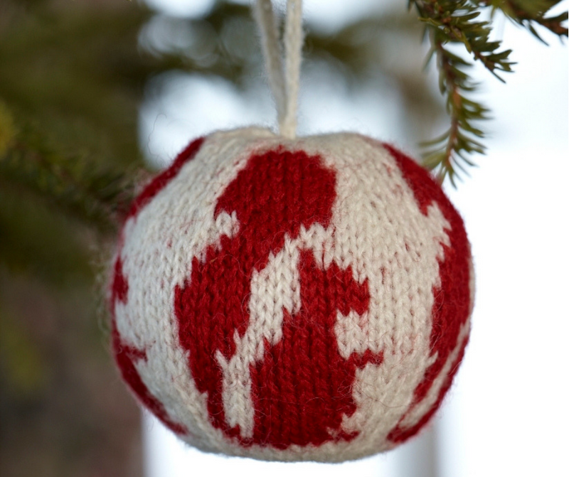 "New Nordic Christmas ball ""The Squirrel"""