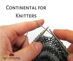 Continental (for Knitters) Rockville Aug 2019