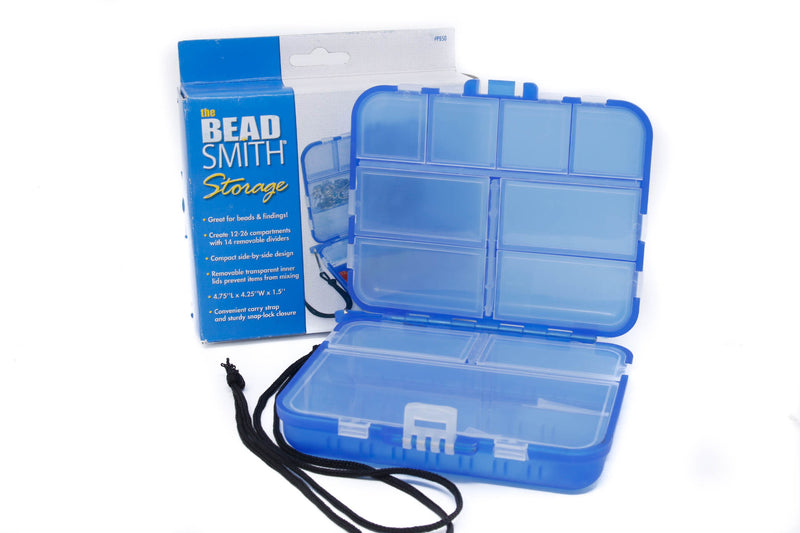 BeadSmith Blue Mini Case