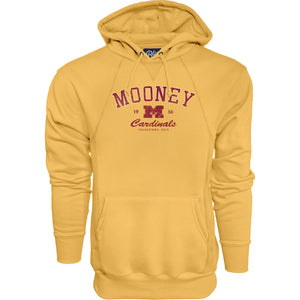 Blue 84 - Gold Sanded Fleece Hooded Sweatshirt