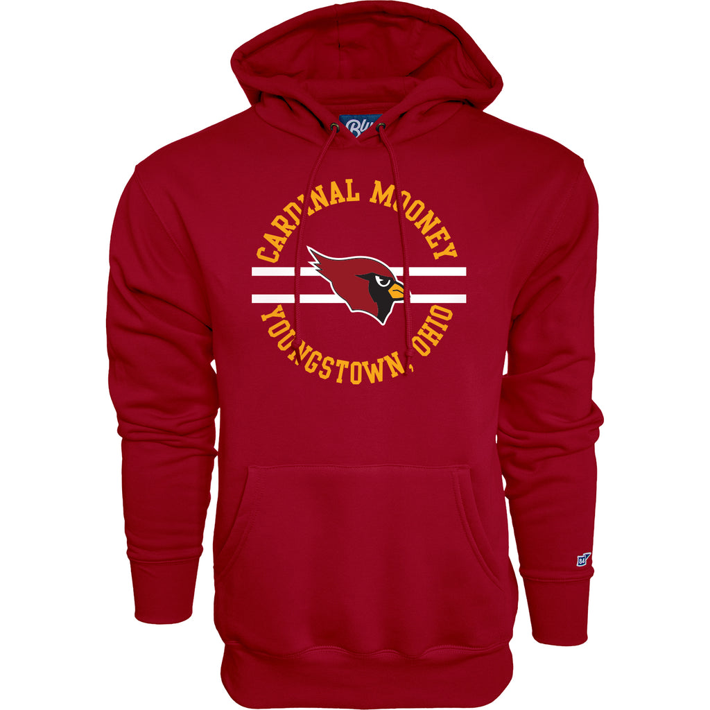 Blue 84 - Cardinal Red Hooded Sweatshirt