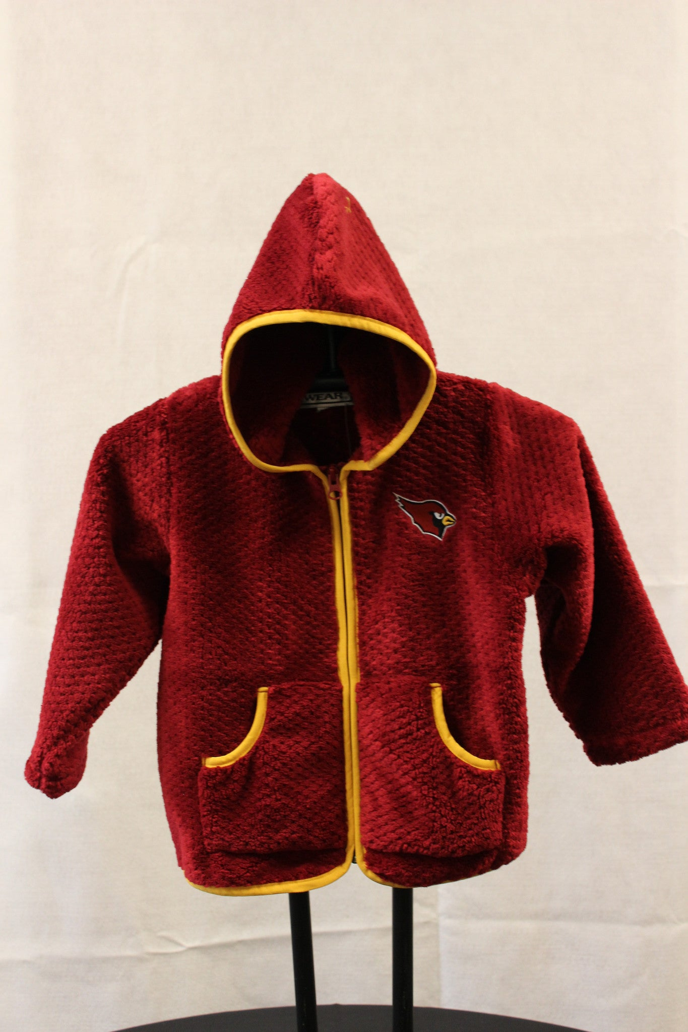 Infant/Toddler Girls Fleece Hooded Jacket