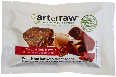 Cacao Goji Brownie - Case of 12 bars