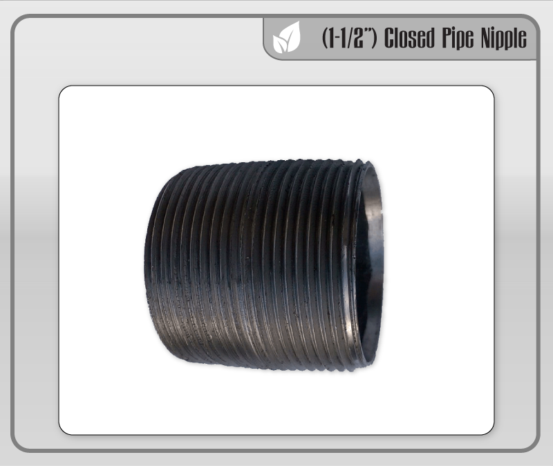 "(1-1/2"") Closed Pipe Nipple"