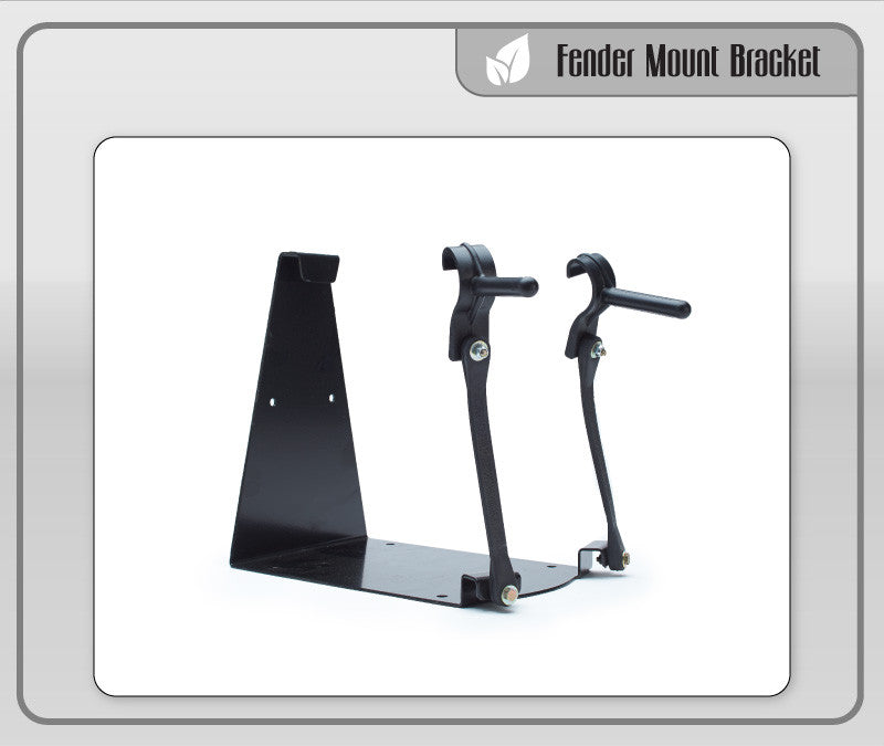 Fender Mounting Bracket w/ Straps