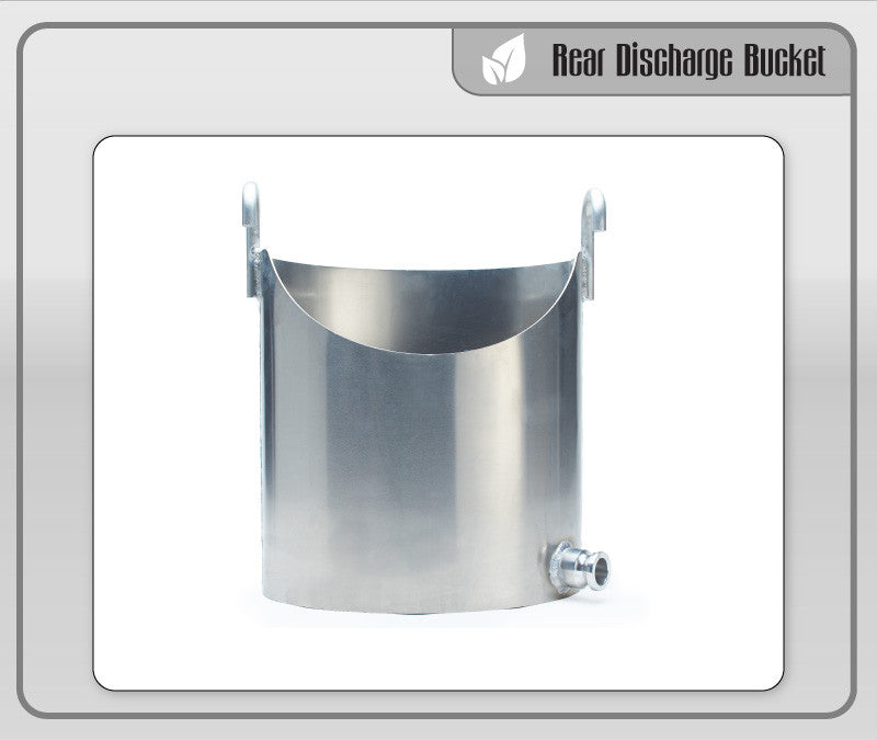 Rear Discharge Bucket
