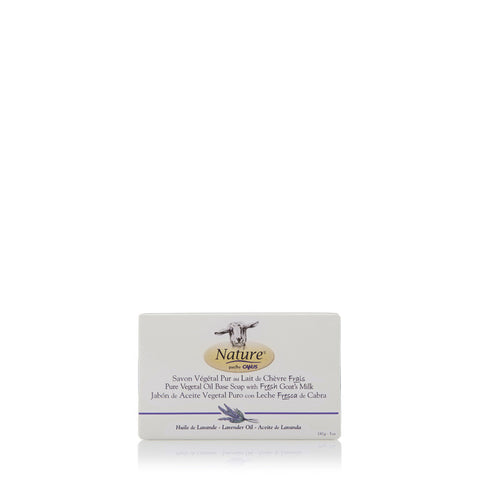Lavender Oil Pure Vegetal Oil Base Soap 5 oz