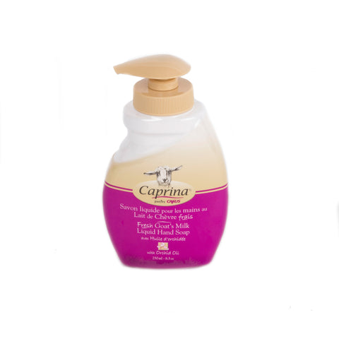 Caprina Liquid Hand Soap Orchid Oil