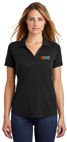 3CDC Ladies Tri-Blend Polo