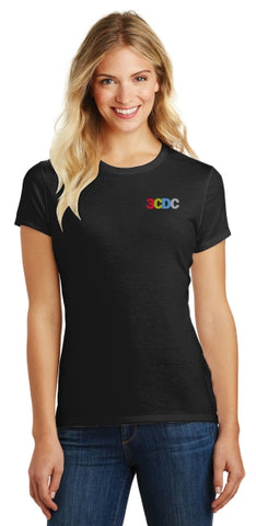 3CDC Women's Short Sleeve Tee Shirt