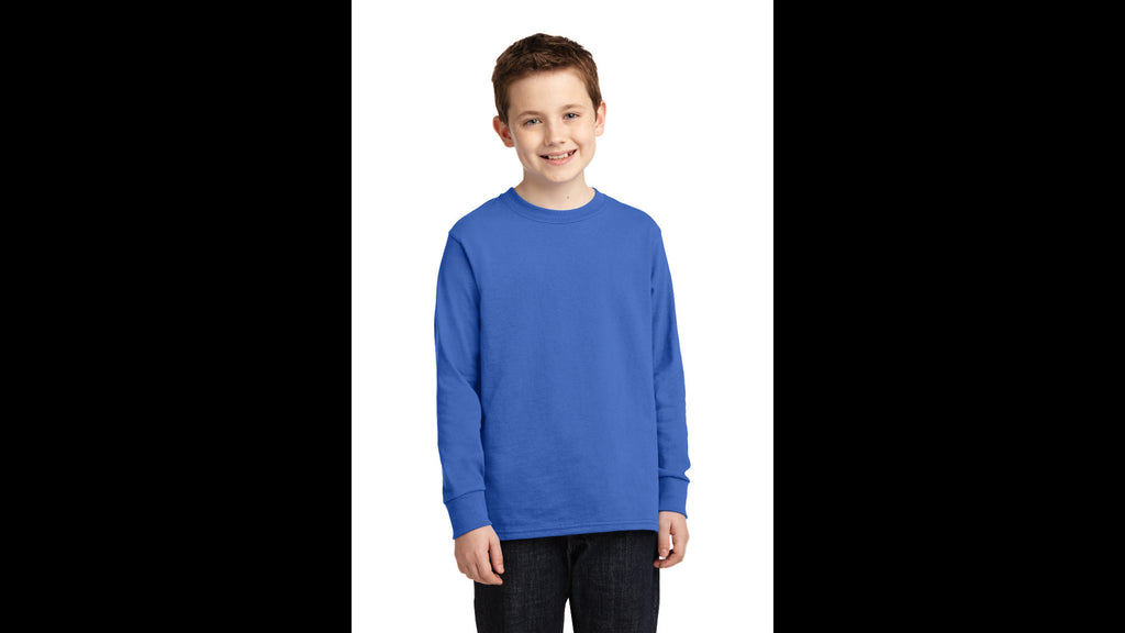 Youth Long Sleeve Cotton T-shirt