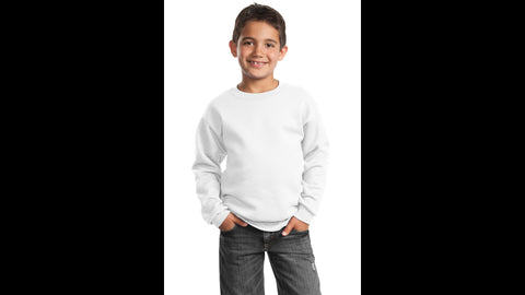 White Youth Sweatshirt