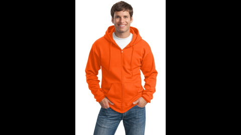 Hooded  Full-Zip Sweatshirt