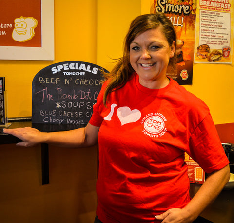 I Heart Tom + Chee Tee