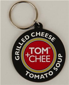 Tom + Chee Key Chains