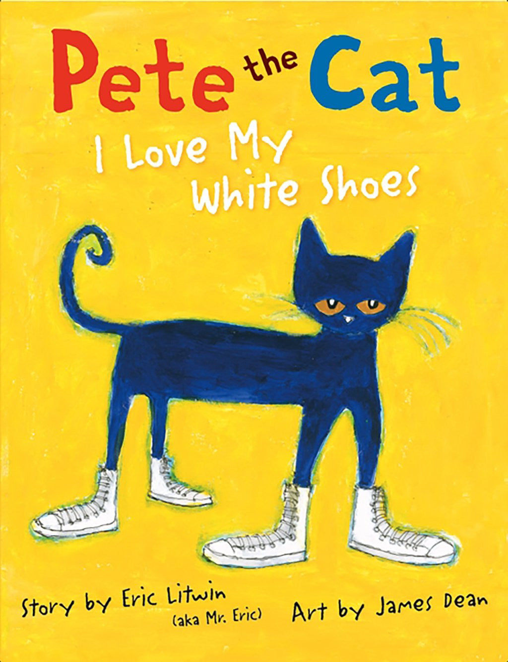 "MerryMakers 14.5"" Pete the Cat Doll and Book Set, based on the book by James Dean"