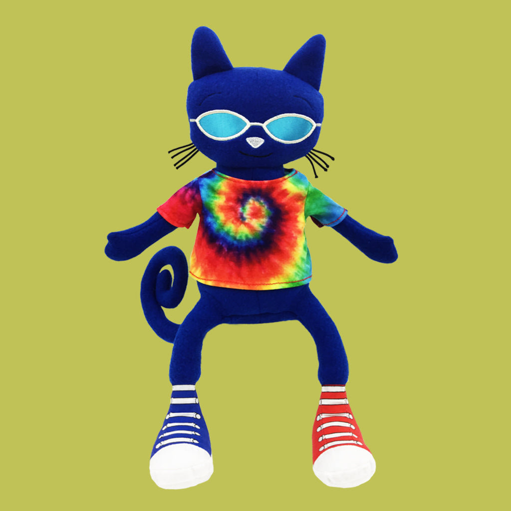 MerryMakers Pete the Cat Gets Groovy Soft Toy based on the books by James Dean