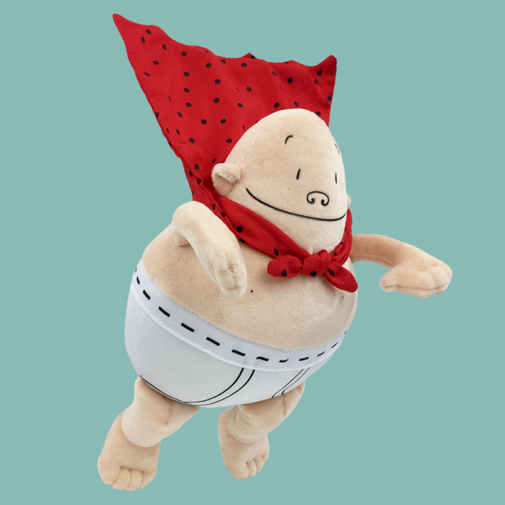 "MerryMakers 10"" Captain Underpants Doll, based on the bestselling comic book series by Dav Pilkey"