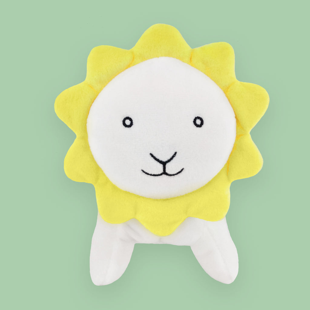 "MerryMakers 7"" Sun Flower Lion Doll based on the book by Kevin Henkes"