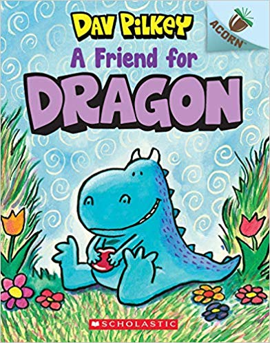 "MerryMakers 10"" Dragon Doll and Book Set, based on the book series by Dav Pilkey"