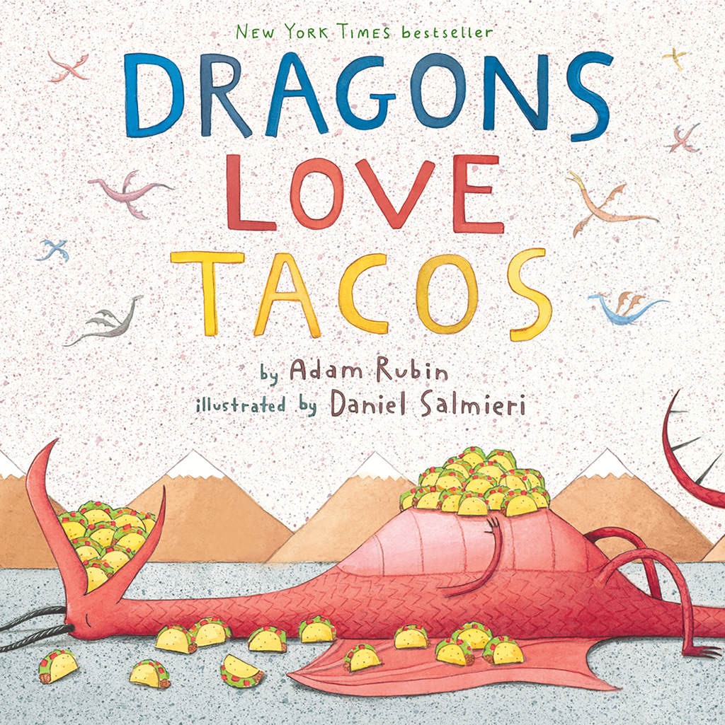 "MerryMakers 10"" Dragon Loves Tacos Doll and Book Set, based on the book by Adam Rubin"