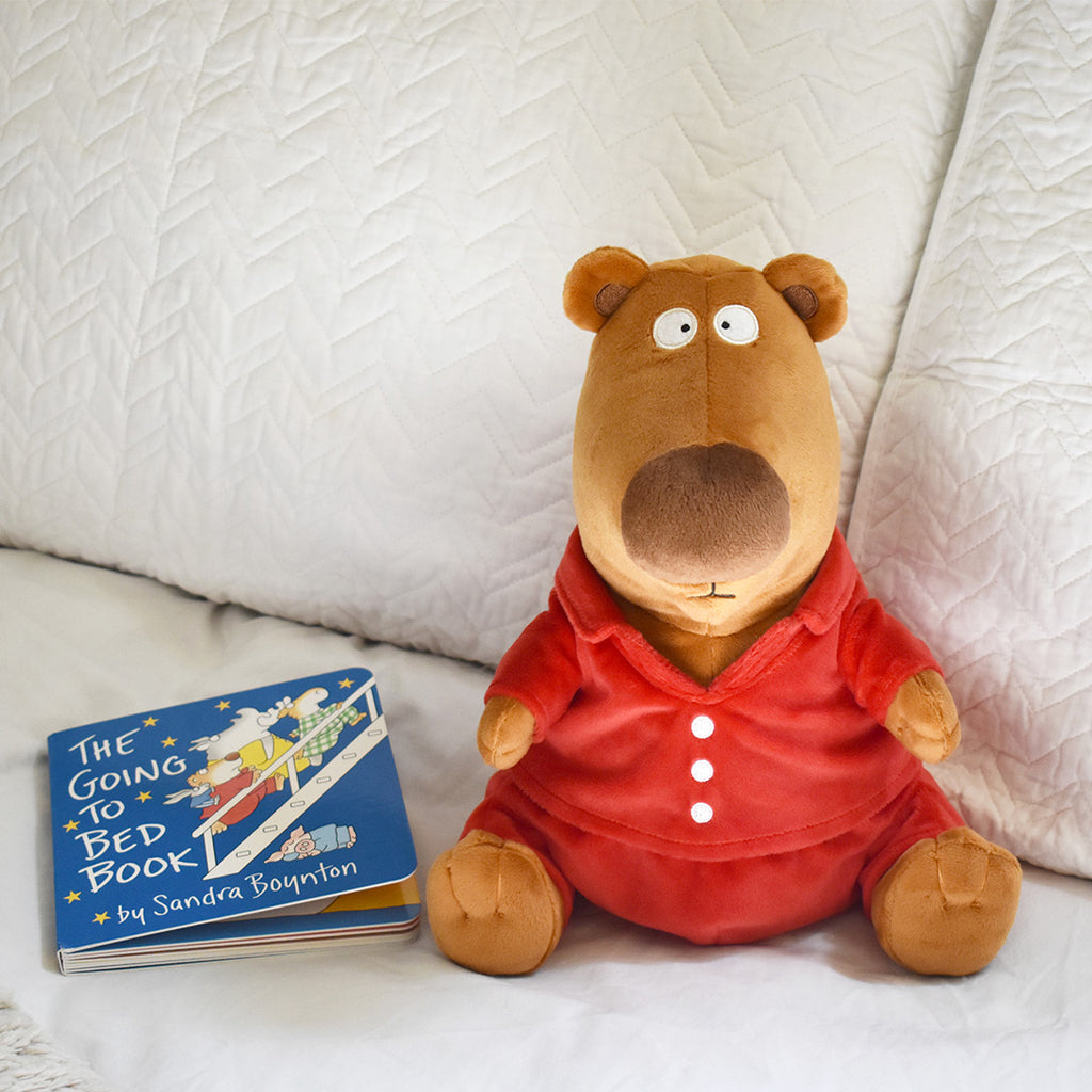 "MerryMakers 10.5"" The Going to Bed Book Bear and Book Set, based on the book by Sandra Boynton"