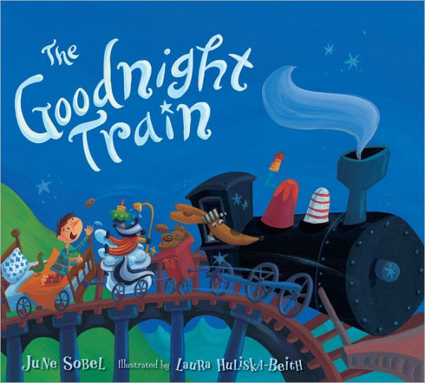 "MerryMakers 8"" Goodnight Train Doll and book set, based on the book by June Sobel"