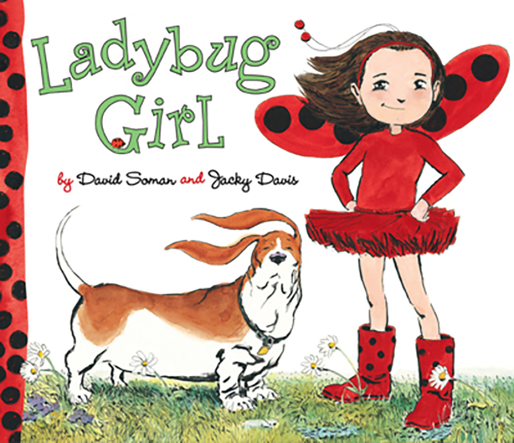 "MerryMakers 10"" Ladybug Girl Doll and Book Set, based on the book by David Soman and Jacky Davis"
