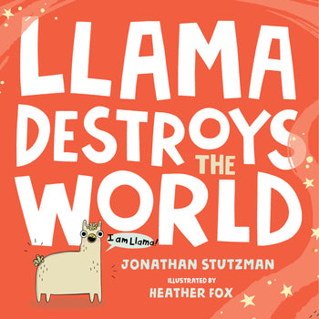 "MerryMakers 9"" Llama Destroys the World Doll and Book Set, based on the book by Jonathan Stutzman"