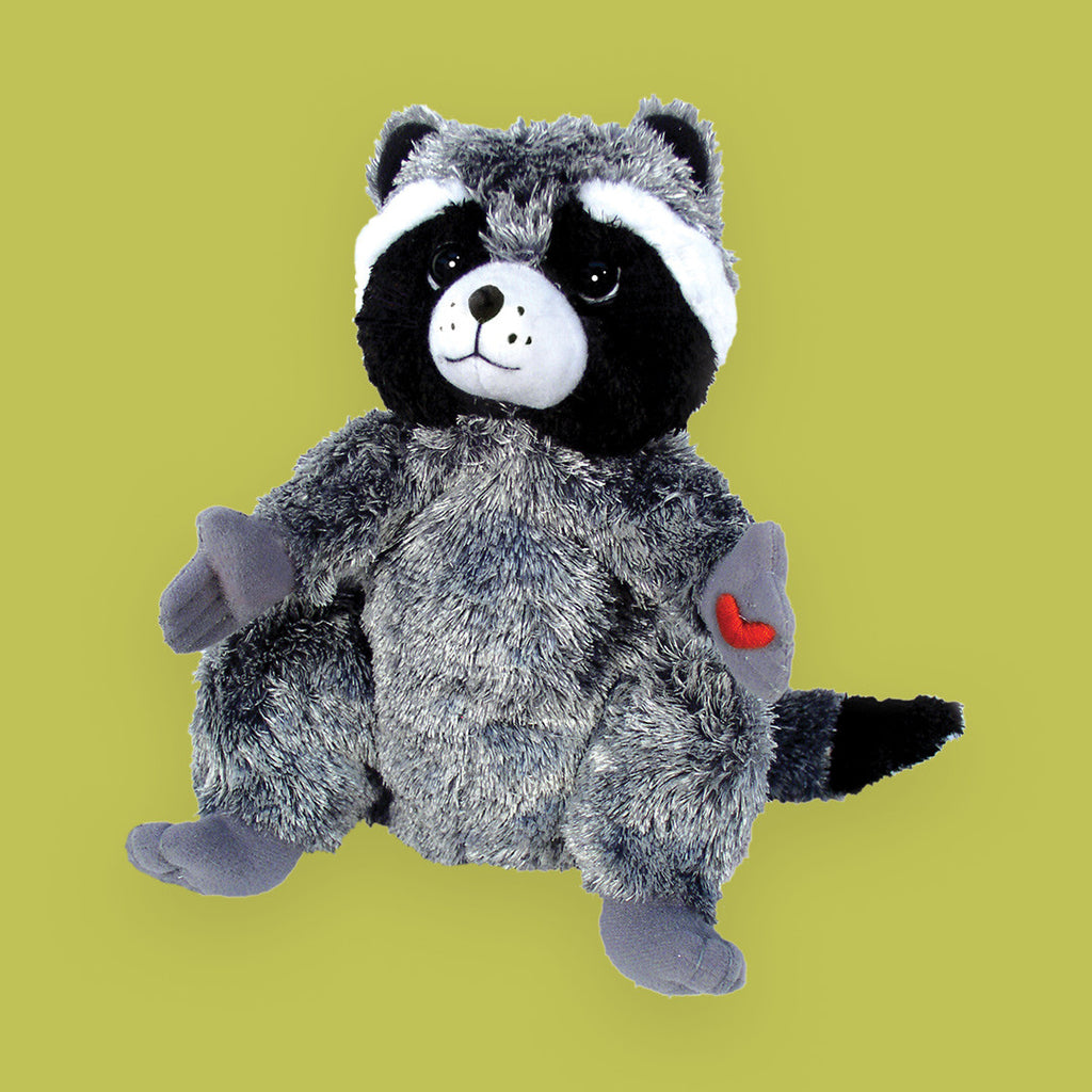 "MerryMakers 9"" The Kissing Hand Chester Raccoon® Doll, based on the book by Audrey Penn"