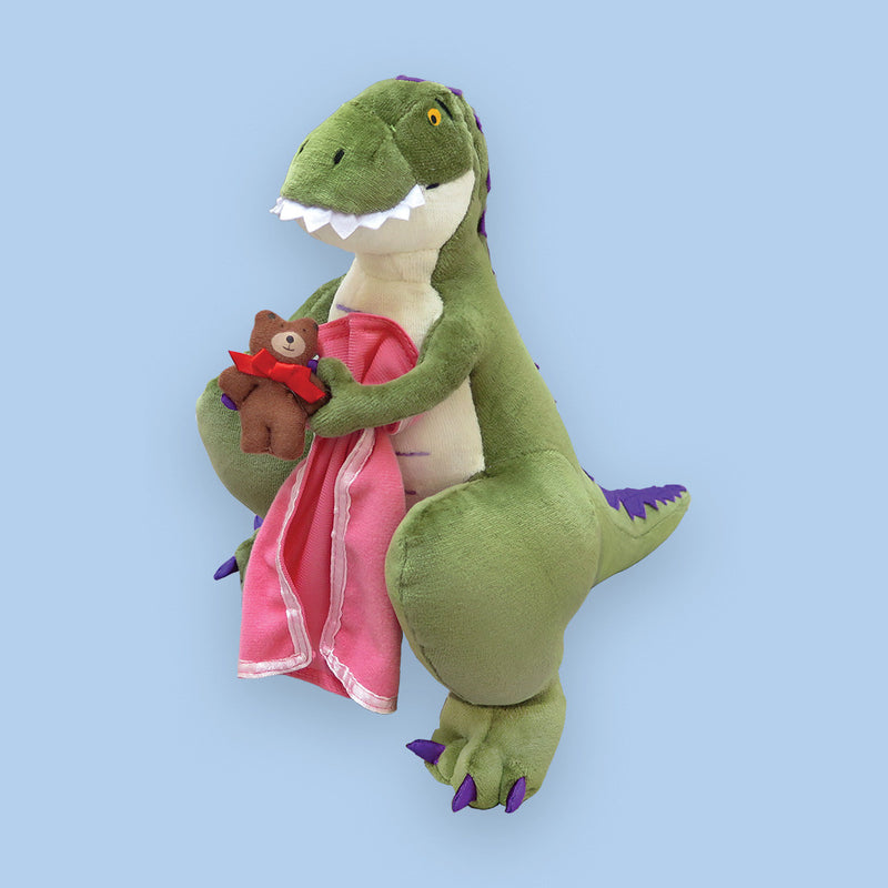 "MerryMakers 14"" How Do Dinosaurs Say Good Night? Doll, based on the books by Jane Yolen"