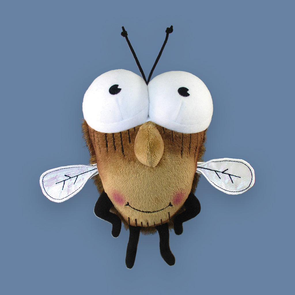 "MerryMakers 8"" Fly Guy Doll, based on the book by Tedd Arnold"