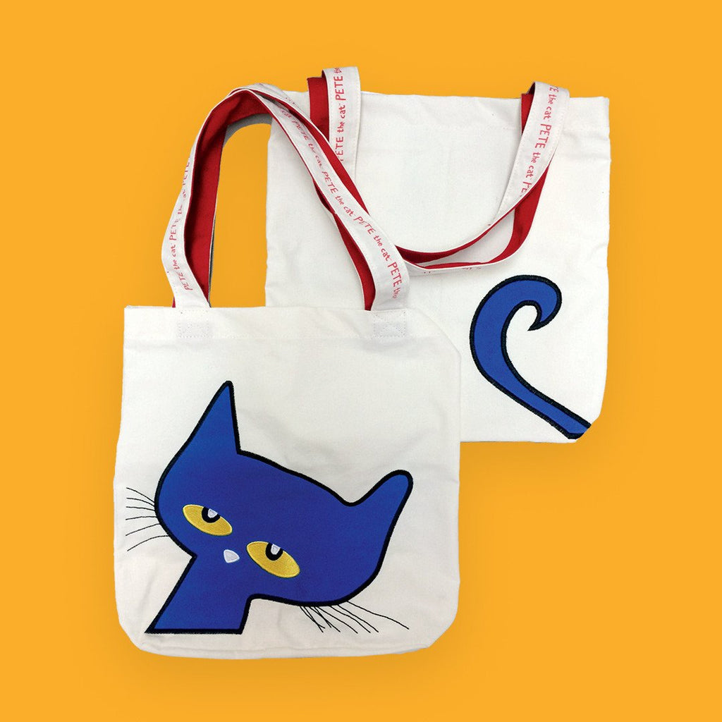 MerryMakers Pete the Cat Tote Bag based on the Pete the Cat Books by James Dean