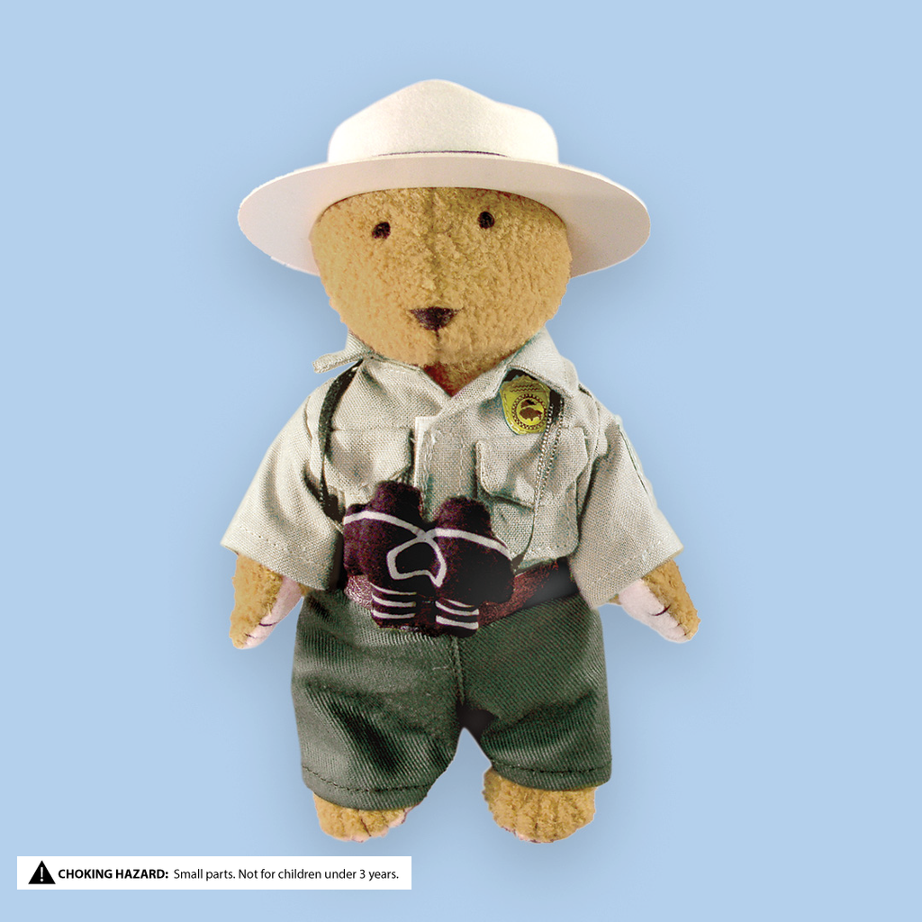 "MerryMakers 6.5"" Park Ranger Bear Doll"