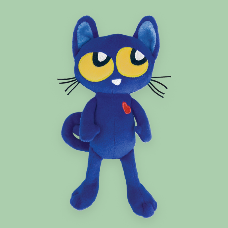 "MerryMakers 8.5"" Pete the Kitty Doll based on the book by James Dean"
