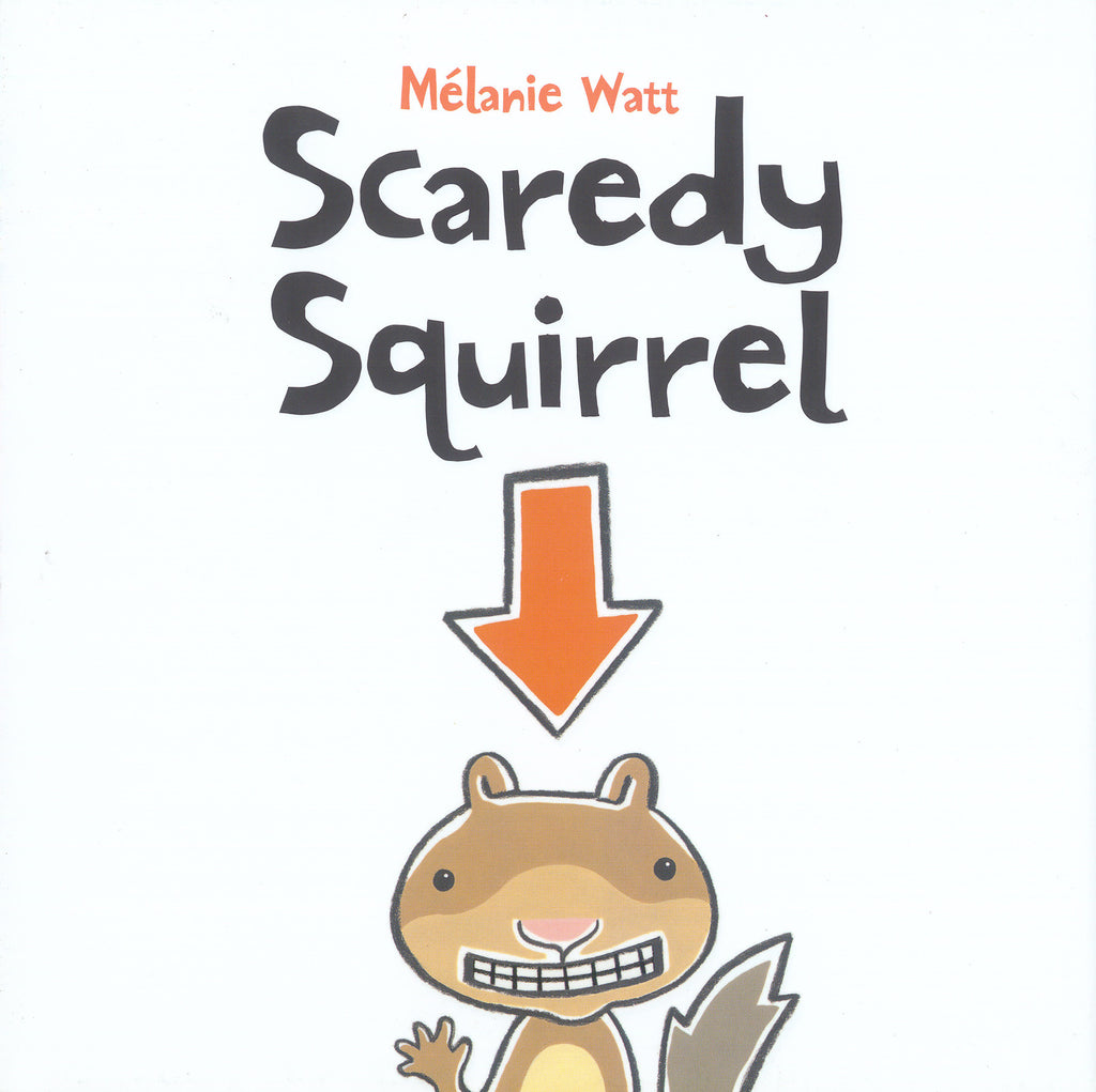 "MerryMakers 12"" Scaredy Squirrel Puppet and Book Set, based on the book by Melanie Watt"