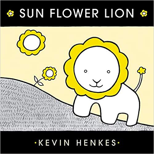 "MerryMakers 7"" Sun Flower Lion Doll and book giftset based on the book by Kevin Henkes"