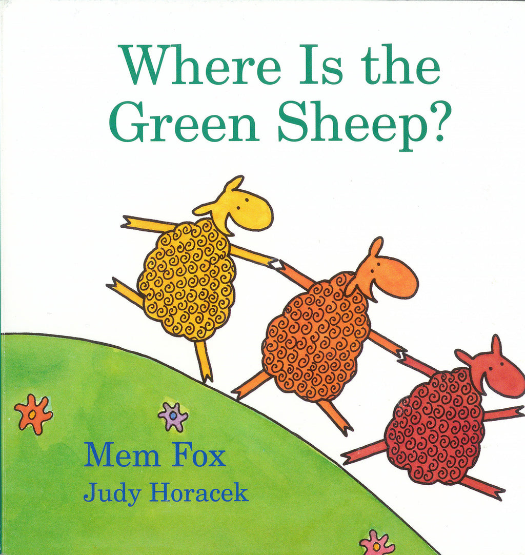 "MerryMakers 6.5"" Where is the Green Sheep? Doll and Book Set, based on the book by Mem Fox"