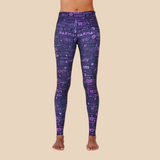 yoga leggings from recycled plastic bottles