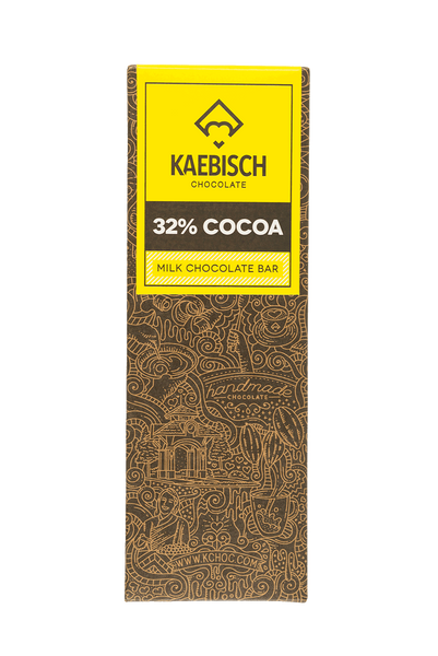 Kaebisch 32% Cocoa Chocolate Bar
