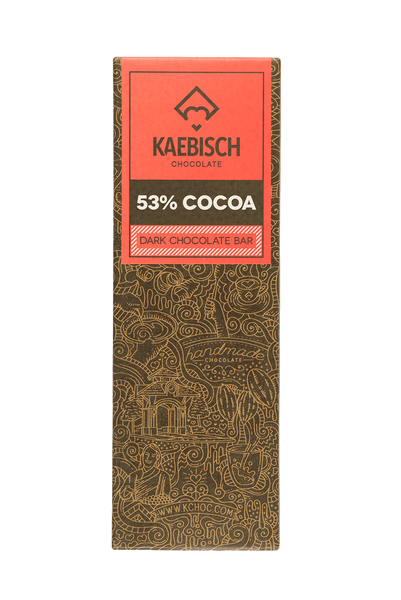 Kaebisch 53% Cocoa Chocolate Bar