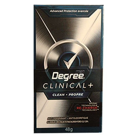 Degree For Men Antiperspirant Clinical Clean