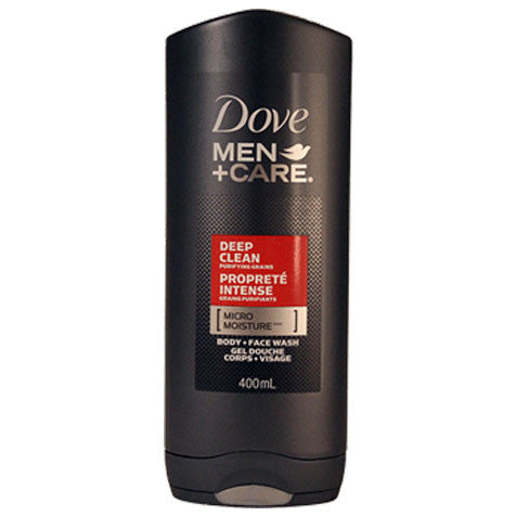 Dove Men+Care Deep Clean Body & Face Wash