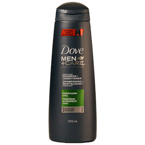 Dove Men+Care Fresh Clean 2-in-1 Shampoo