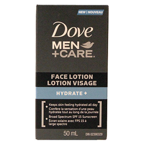 Dove Men+Care Hydrate Face Lotion