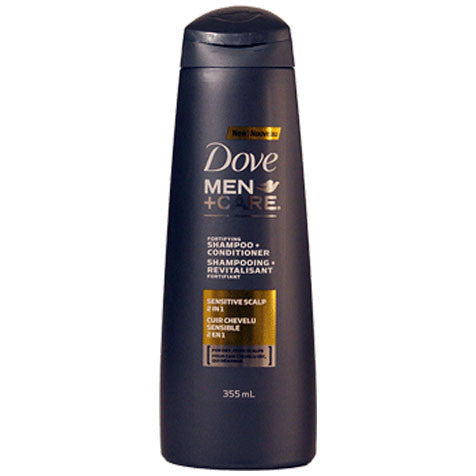 Dove Men+Care Sensitive Scalp 2-in-1 Shampoo