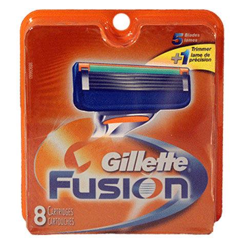 Gillette Fusion Blades (8 Pack)