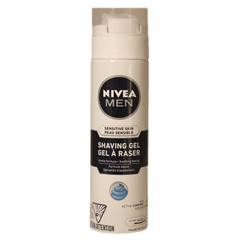 NIVEA MEN Sensitive Skin Shaving Gel