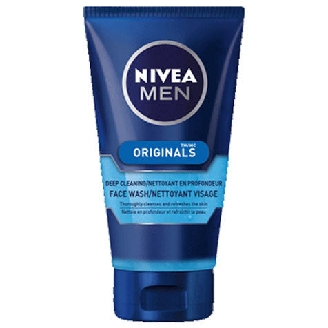 NIVEA MEN Deep Cleaning Face Wash