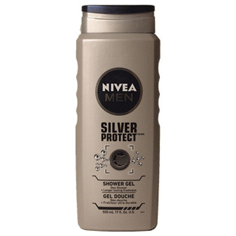 NIVEA MEN Silver Protect Shower Gel